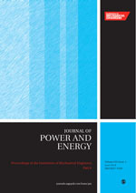 The Journal of Power and Energy, Part A of the Proceedings of the Institution of Mechanical Engineers