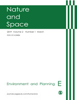 Environment And Planning E Nature Space