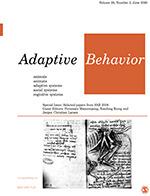 Adaptive Behavior | SAGE Publications Ltd